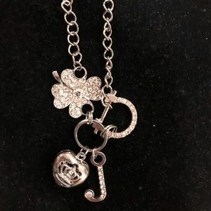 Juicy Couture silver necklace